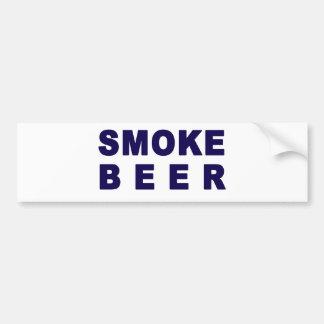 smoke beer bumper sticker
