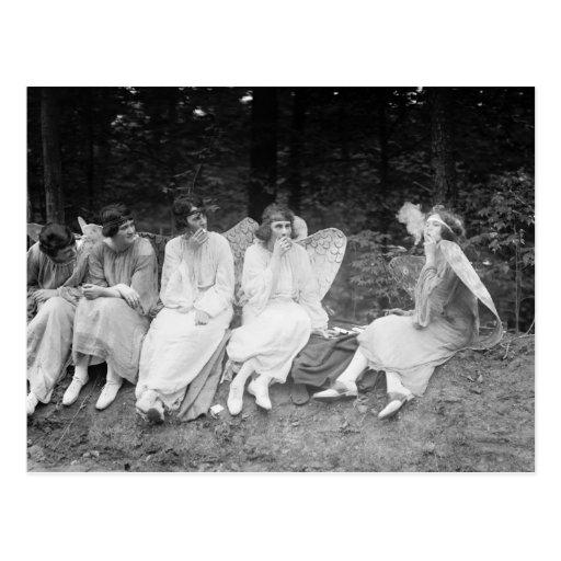 Smoke 'Em If You Got 'Em: 1922 Post Card