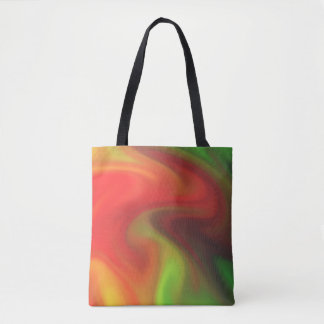 Smoke filled haze tote bag