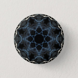 Smoke flower Kaleidoscope badge