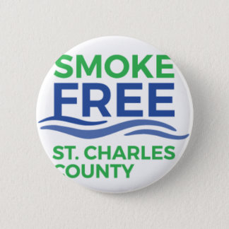 Smoke Free STC Products 6 Cm Round Badge