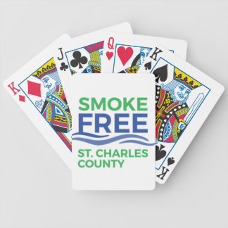 Smoke Free STC Products Bicycle Playing Cards