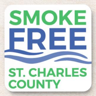 Smoke Free STC Products Coaster