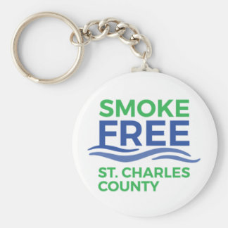 Smoke Free STC Products Key Ring