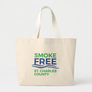 Smoke Free STC Products Large Tote Bag