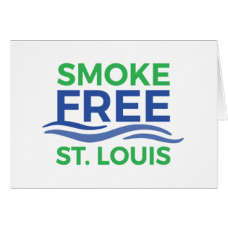 Smoke Free STL Paper Products Card