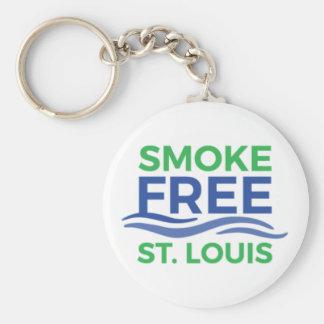 Smoke Free STL Products Key Ring