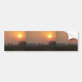 Smoke From Controlled Burn At Nw Arkansas Bumper Stickers