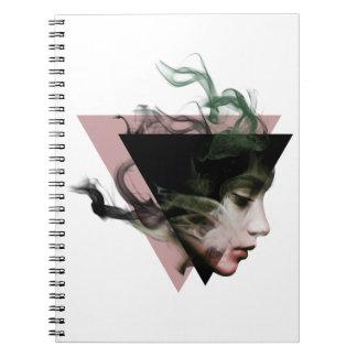 Smoke Illusion Spiral Notebook
