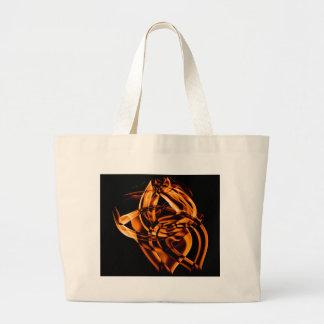 Smoke n Gold (4).JPG Large Tote Bag