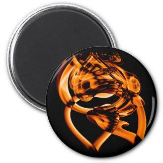 Smoke n Gold (5).JPG 6 Cm Round Magnet