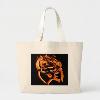 Smoke n Gold (5).JPG Large Tote Bag