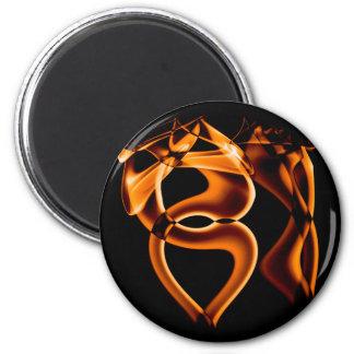 Smoke n Gold (7).JPG 6 Cm Round Magnet