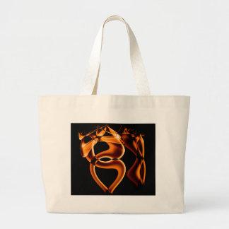 Smoke n Gold (7).JPG Large Tote Bag