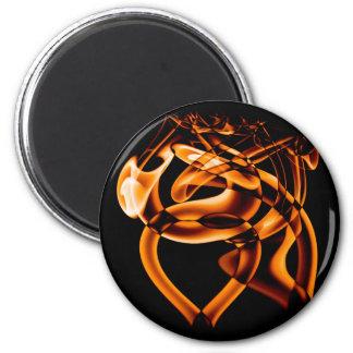 Smoke n Gold (8).JPG 6 Cm Round Magnet
