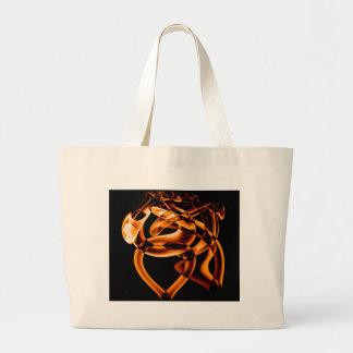 Smoke n Gold (8).JPG Large Tote Bag