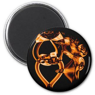 Smoke n Gold (9).JPG 6 Cm Round Magnet