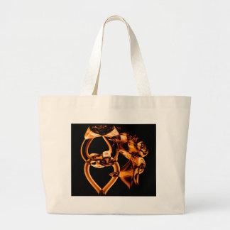 Smoke n Gold (9).JPG Large Tote Bag