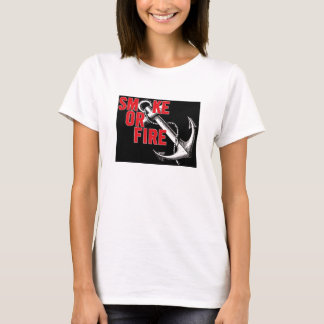 smoke or fire baby doll T-Shirt