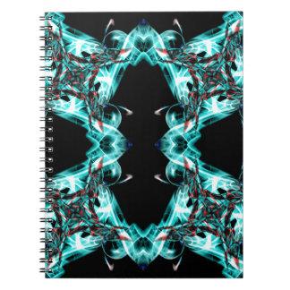 Smoke pattern (1) spiral notebook