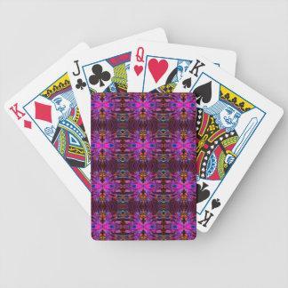 Smoke Pattern Ab (10) Bicycle Playing Cards