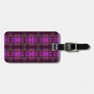 Smoke Pattern Ab (10) Luggage Tag