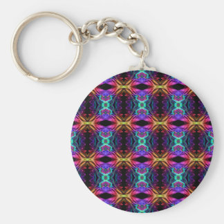 Smoke Pattern Ab (11) Key Ring