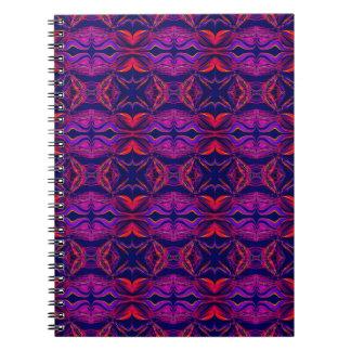 Smoke Pattern Ab (2) Spiral Notebook