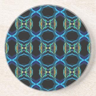 Smoke Pattern Ab (3) Coaster
