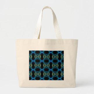 Smoke Pattern Ab (3) Large Tote Bag