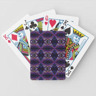Smoke Pattern Ab (7) Bicycle Playing Cards