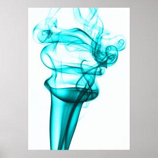 Smoke Photo Poster