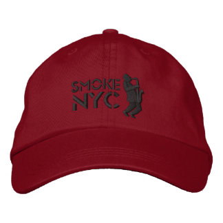 Smoke Red BB Embroidered Hat