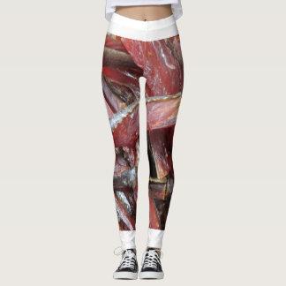smoke salmon leggings