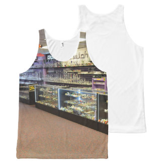 Smoke Shop All-Over Print Singlet