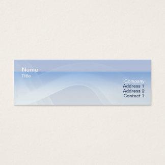 Smoke - Skinny Mini Business Card