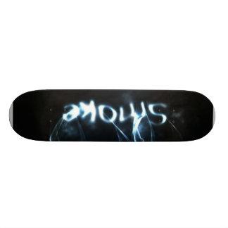 Smoke White Custom Skate Board