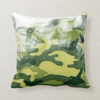Smoked BDU Throw Pillow