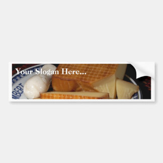 Smoked Gruycre Cheese Bumper Stickers