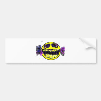 smoked out bumper sticker