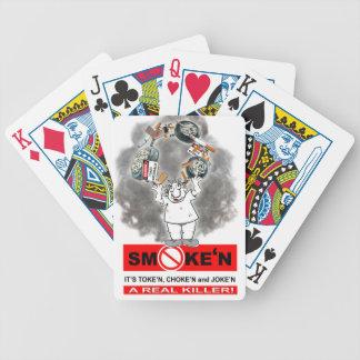 SMOKEN_TOKEN_1 BICYCLE PLAYING CARDS