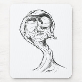 Smoker Mouse pad