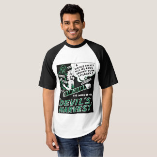 Smokers Cannibis T Shirt Devil's Harvest
