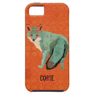 Smokey Amber Fox  iPhone Case