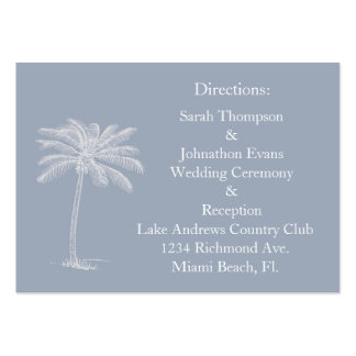 Smokey Beach Getaway Direction Cards Pack Of Chubby Business Cards