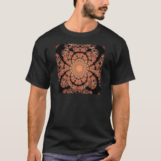 Smokey Black Lace & Incense Design by Sharles T-Shirt