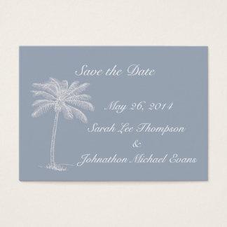 Smokey Blue Beach Getaway Save The Date Cards