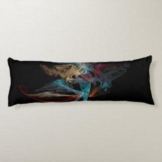 Smokey Fractal Body Cushion