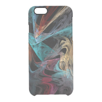 Smokey Fractal Clear iPhone 6/6S Case