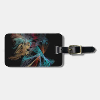 Smokey Fractal Luggage Tag